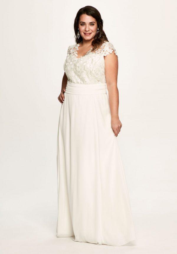 Vestidos curvy de novia