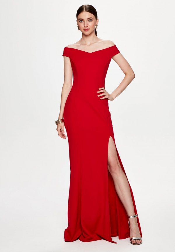 Vestidos rojos para invitadas espectaculares