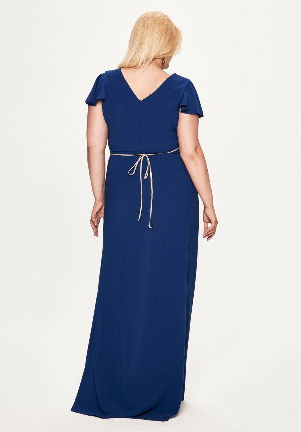 Vestidos de fiesta en color azul tallas grandes